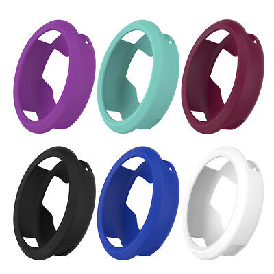 Silicone Frame Skin Protective Case Cover For Garmin Vivomove HR Sports Watch