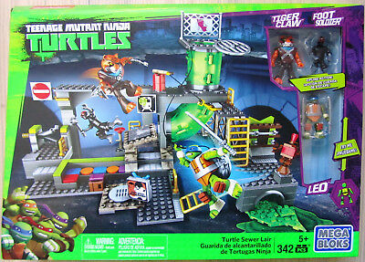 Mattel DMX55 Mega Bloks - Teenage Mutant Ninja Turtles Geheimversteck