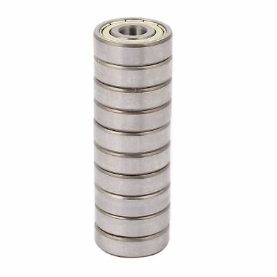 Metal Shielded Sealed Low Speed Deep Groove Ball Bearing 10mmx30mmx9mm 10pcs