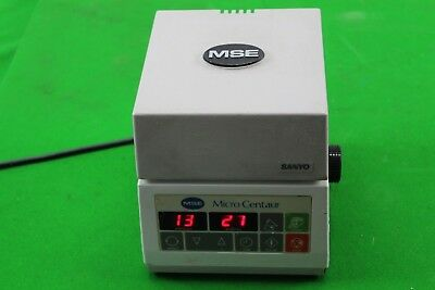 Sanyo MSE Micro Centaur Centrifuge 12 Place Rotor Lab Equipment