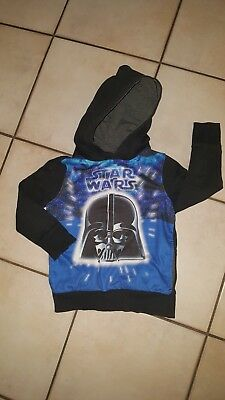 ☆ Star Wars ☆ Kapuzenpulli Gr.122 !!! Cool !!!