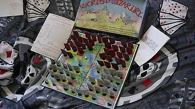 Swords & Wizardry Gibsons Games 1980 2Sp. 9J FANTASY STRATEGO  Top Rarität engl.