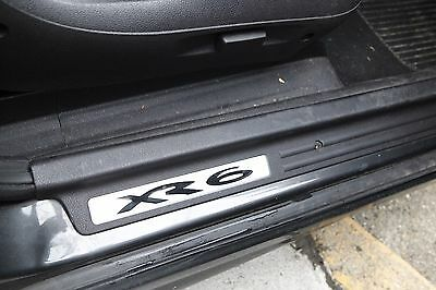 Unique Xr6 Badge Door Scuff Plate For Ford Ba Bf Xr 6~Falcon Sedan, Ute, Turbo