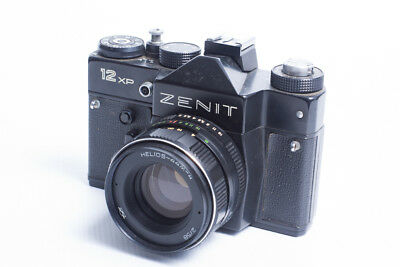Zenit 12-XP con Helios 44M-4, f2-58mm