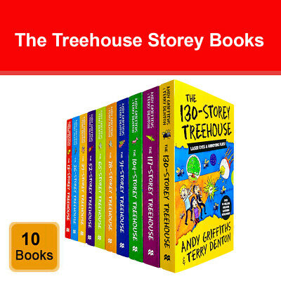 Storey Treehouse Collection Andy Griffiths and Terry Denton 5 Books Set Pack NEW