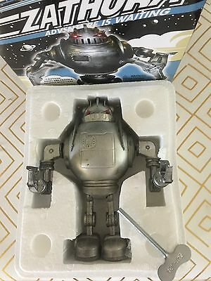 Zathura Tin Wind Up Robot Working Collectors Condition In Original Box