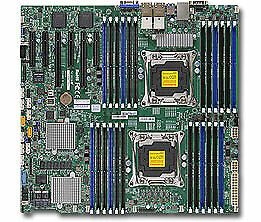 NEW MBSM-X10DCI-LN4 X10DRC-LN4+-B, SUPERMICRO DP E5-2600 V3/V4, 24X DDR4 RE.e.
