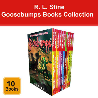 Goosebumps Series R. L. Stine 10 Books Collection Set (Classic Covers) Pack NEW