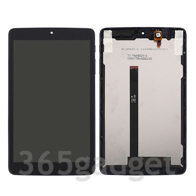 LCD Display + Touch Screen Digitizer For T-Mobile Alcatel A30 8'' Tablet 9024W