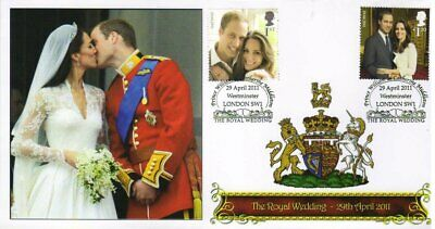 Royal Wedding 2011 Prince William & Kate Kiss Collectors Stamp Cover