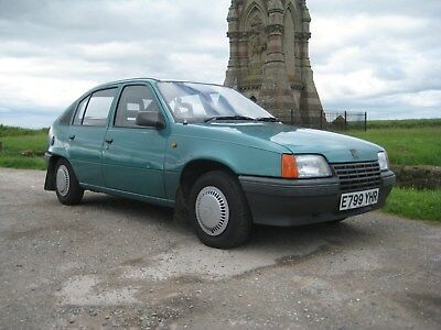 Vauxhall Astra S Metit 1.3 1988 ONLY 44000 MILES FRON NEW