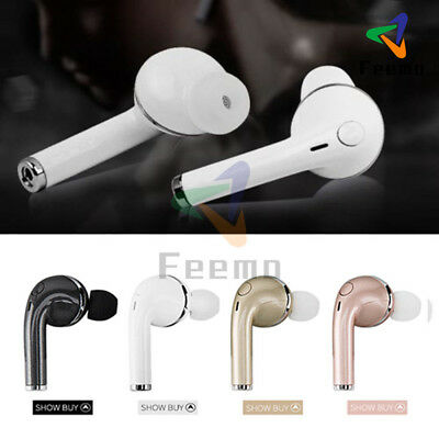 Bluetooth Stereo Headset Wireless Waterproof Earphone for Samsung iPhoneX LG