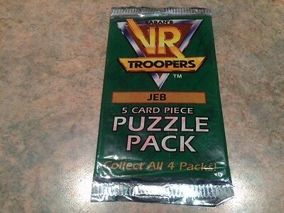 "L@@k Sabah's 1995 Vr Troopers "" Jeb "" Factory Sealed Packet"