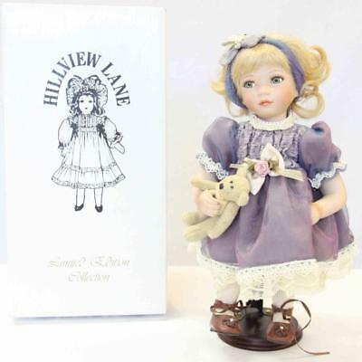 0203 Zara Doll Limited Edition Collection HILLVIEW LANE #14956
