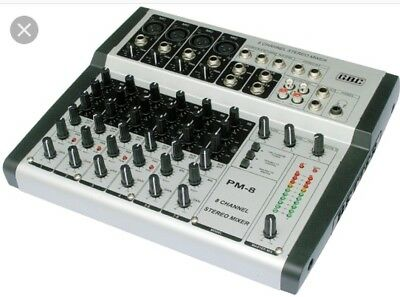 mixer audio professionale