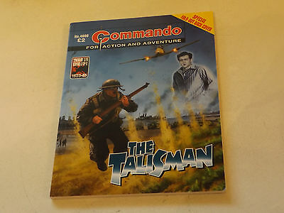 Commando War Comic Number 4608,2013 Issue,v Good For Age,04 Years Old,very Rare.