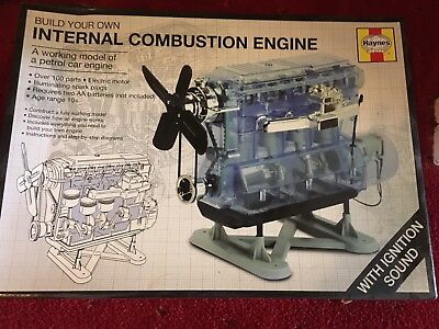 HAYNES Build Your Own  Internal Combustion Engine  - UNASSEMBLED, still in packe