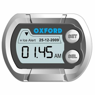 Oxford Micro Clock 1 Orologio Temperatura Digitale  46X35X12Mm Per Moto