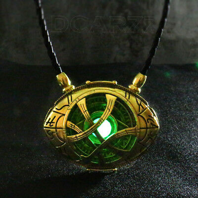 Dr Doctor Strange Pendant Necklace EYE of AGAMOTTO Collection GLOW 7cm