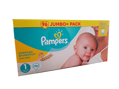 (0,20€/Einheit) Pampers Premium Protection New Baby Windeln Gr 1 2-5Kg Newborn