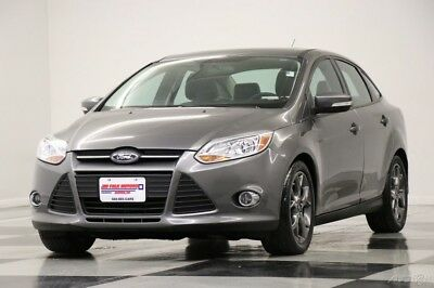 Ford Focus SE Sunroof Leather Sterling Gray Metallic Sedan Fo 2014 SE Sunroof Leather Sterling Gray Metallic Sedan Fo Used 2L I4 16V Automatic