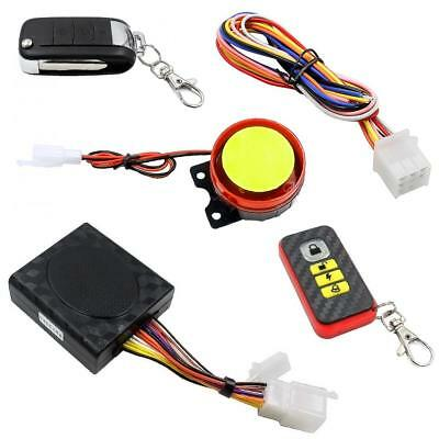 Motorcycle Scooter Bike Security Remote Voice Alarm Anti-theft System 12V 125db