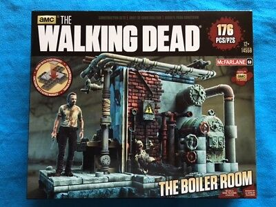 THE WALKING DEAD  Lower Prison Cell BUILDING SETS 96 Teile McFARLANE Toys