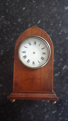 Antique Lancet Top  Mantle Clock