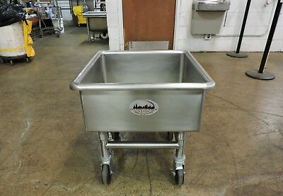 Commercial Stainless Steel Mobile Utility Sink