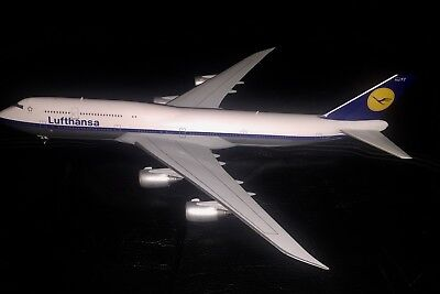 Flugzeugmodell 1:200 Herpa Wings Lufthansa 747-8 Retro Lackierung - Ohne Ovp!