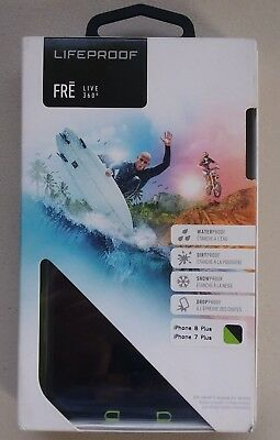 Lifeproof FRĒ Heavy Duty 360 Screen Protection Case iPhone 8 Plus iPhone 7 Plus
