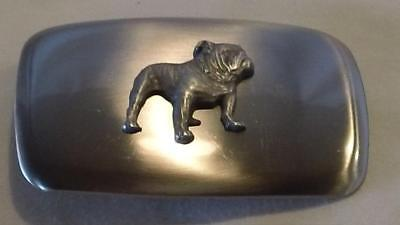 1980s MACK TRUCK BULLDOG BELT BUCKLE - MADE IN THE USA - FREE SHIP