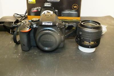 Nikon D D5500 24.2MP Digital SLR Camera - Black (Kit w/ VR II 18-55mm Lens)