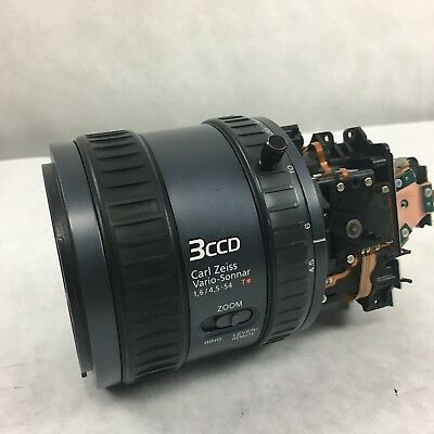 Sony HDR-FX1 FX1 Part Lens Block With VAP and CCD Works Used