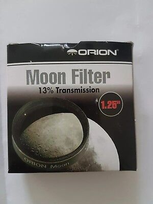 Orion 05662 1.25-Inch 13 Percent Transmission Moon Filter Black