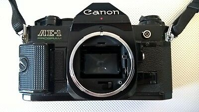 Canon AE-1 Program noir/black