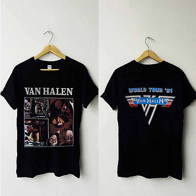 Vintage Van Halen Fair Warning Tour'81 T-shirt Reprint size S to 3XL