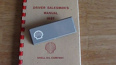 Shell Gas Oil Service Filling Station Employee Name Tag UNUSED MINT Condition