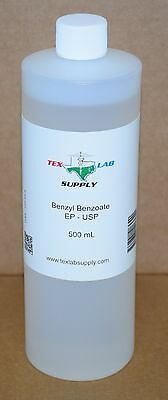 Benzyl Benzoate USP 500 mL - Sterile