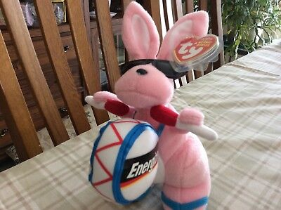 Ty Energizer Bunny Beanie Baby - Walgreens Exclusive - 2007 -  Mint with Tags