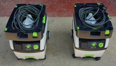 Festool CTL Midi Mobile  Extractor 1 of 2 available Hardly used 240v
