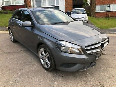 2013 Mercedes-Benz A Class A180 1.5 Cdi Sport Grey Salvage Damaged Repairable