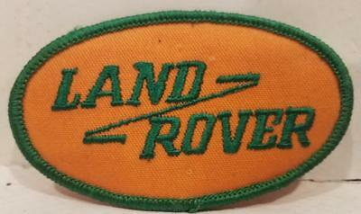 Land Rover Patch Orange and Green New