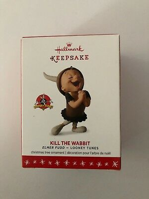 2016 Kill The Wabbit Elmer Fudd Hallmark Ornament