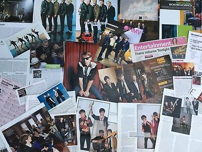 FRANZ FERDINAND SAMMLUNG 70+ Clippings LOT POSTER 2004-18 RARE Always Ascending
