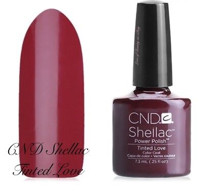 Cnd Creative Nail Design Shellac Tinted Love 09955 Red