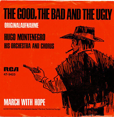 "Single Vinyl - ""Hugo Montenegro"" - Filmmusik - The Good, The Bad and the Ugly"