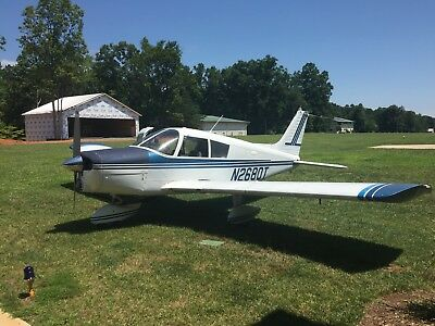 1972 Piper Cherokee 140 with fresh annual and low time engine!