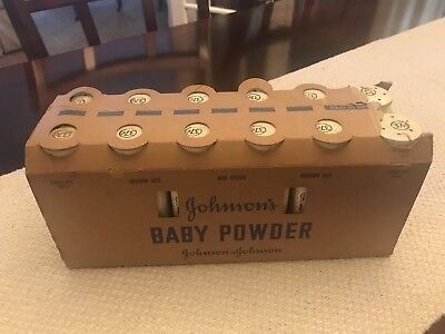 Vintage Johnson And Johnson Baby Powder  Sold Individually!!