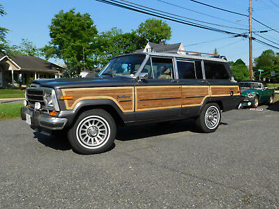 1990 Jeep Wagoneer  1990 Jeep Grand Wagoneer; Recent total 'Mechanical' rebuild; A/C, Auto, (video)